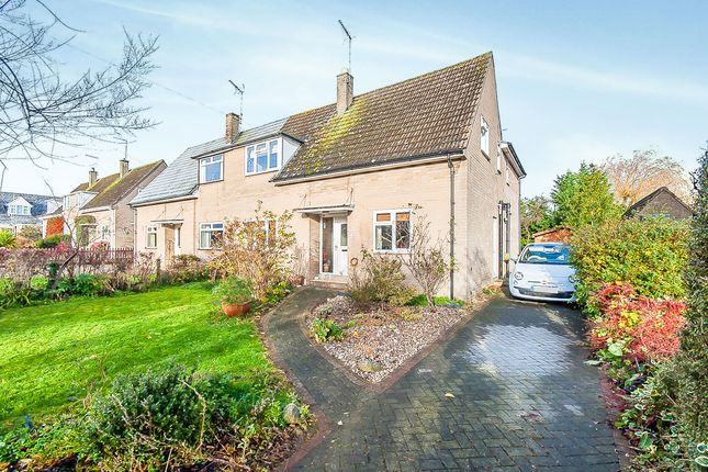 Thumbnail Semi-detached house for sale in Lime Avenue, Oundle, Peterborough