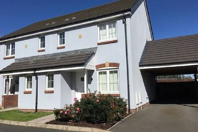 Thumbnail Semi-detached house to rent in 20 Belfrey Close, Hubberston, Milford Haven