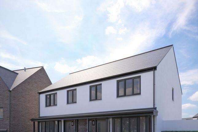 Thumbnail Semi-detached house for sale in The Allington, Fusion, Paignton