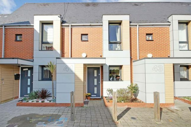 Thumbnail Terraced house for sale in Magnetic Crescent, Enfield