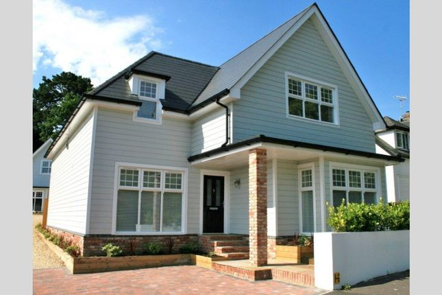 Thumbnail Detached house for sale in Lilliput Road, Canford Cliffs, Poole