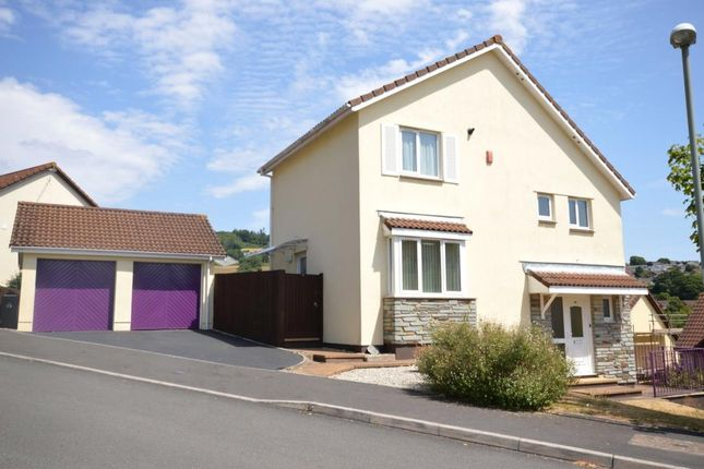 Thumbnail Detached house for sale in Valley Close, Teignmouth, Devon