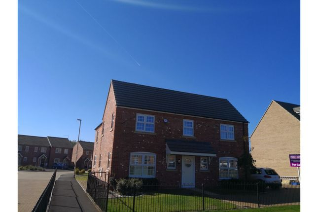 Thumbnail Detached house for sale in Spinney Close, Moulton, Northampton