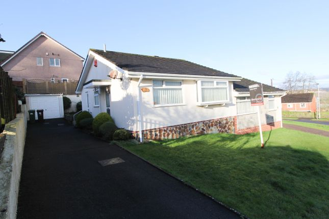 Thumbnail Semi-detached bungalow for sale in Grantham Close, Plympton, Plymouth