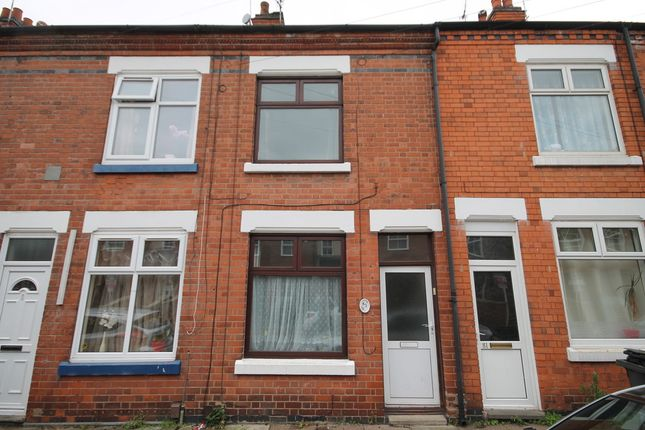 Thumbnail Terraced house for sale in Eastleigh Road, West End, Leicester