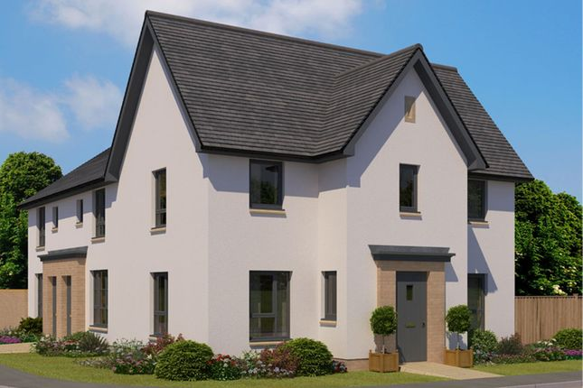 "Thumbnail End terrace house for sale in ""Abergeldie"" at Frogston Road East, Edinburgh"