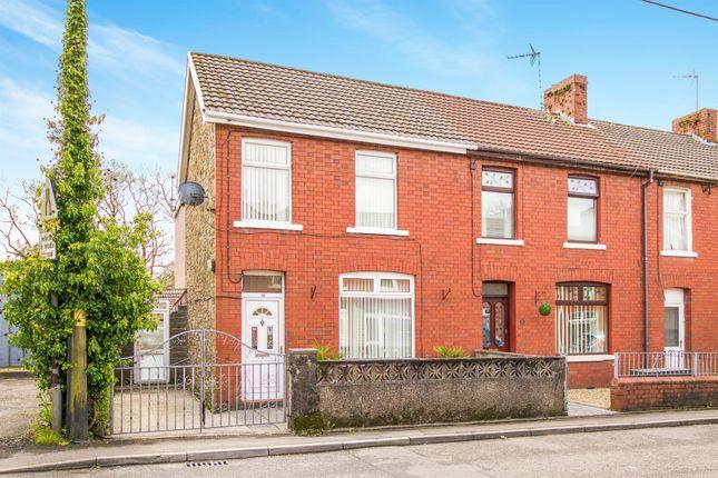 Thumbnail End terrace house for sale in Abergarw Road, Brynmenyn, Bridgend