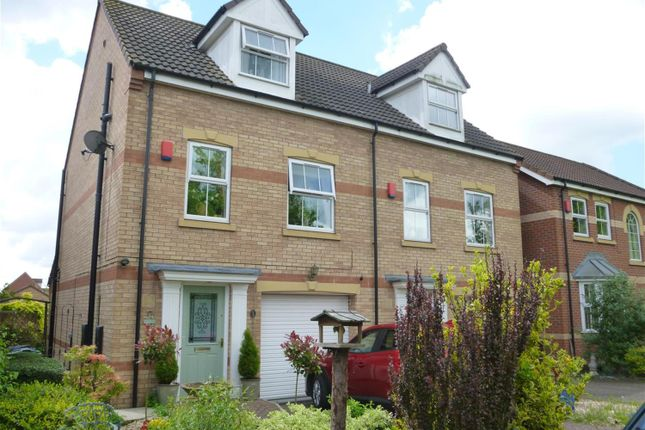 Thumbnail Semi-detached house for sale in Swan Court, Gainsborough