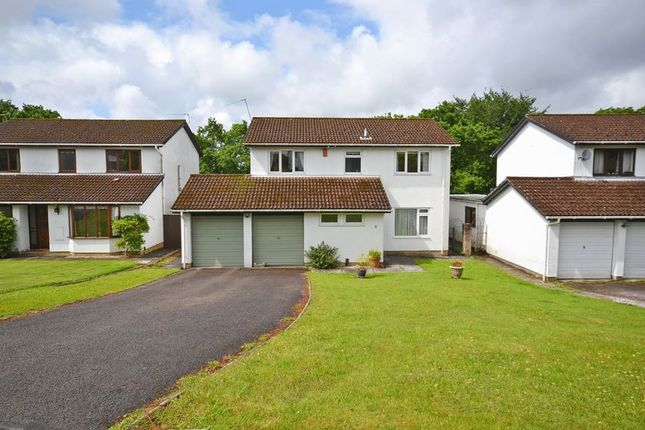Thumbnail Detached house for sale in Spacious Family House, Wood Close, Newport