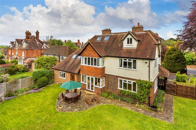 Thumbnail Detached house for sale in Pit Farm Road, Guildford, Surrey