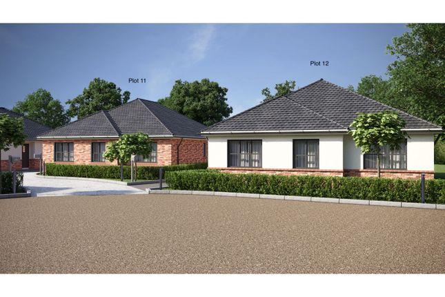 Thumbnail Detached bungalow for sale in Worthington Lane, Coleorton