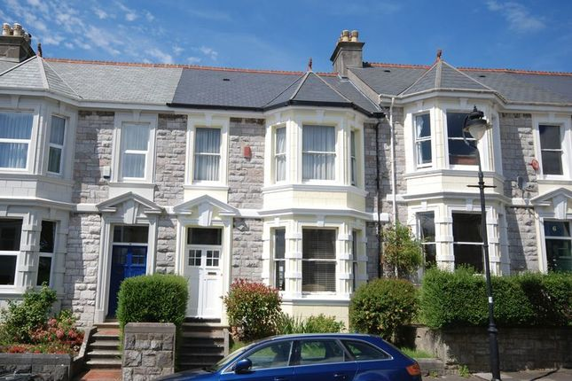 Thumbnail Terraced house for sale in Glenhurst Road, Plymouth