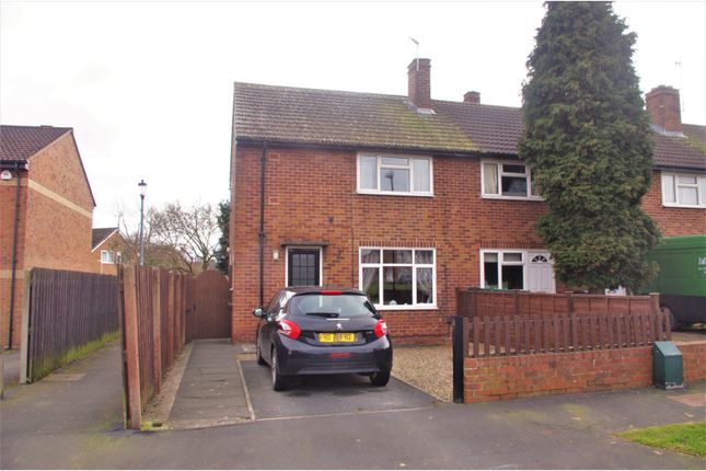 Thumbnail End terrace house for sale in Manor Crescent, Knaresborough