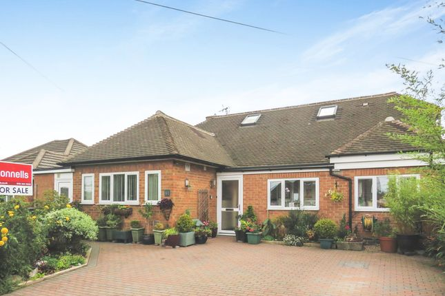 Thumbnail Detached bungalow for sale in Oakside Crescent, Evington, Leicester