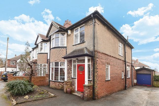 Thumbnail Semi-detached house for sale in The Green, Moortown, Leeds
