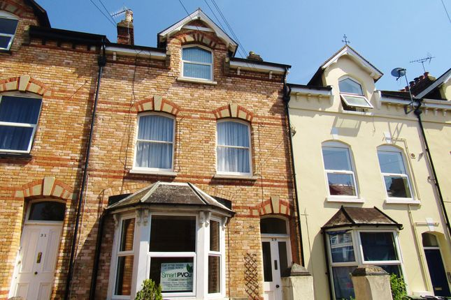 Thumbnail 2 bed flat to rent in Raleigh Road, St Leonards - Exeter