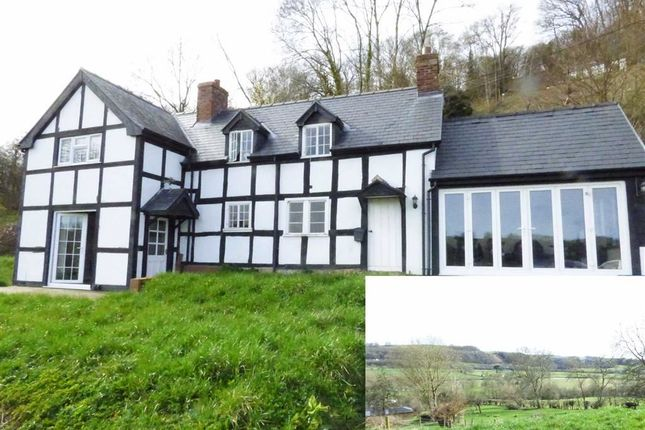 Thumbnail Detached house for sale in Fron, Montgomery