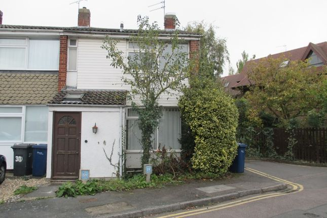 Thumbnail End terrace house to rent in Acrefield Drive, Cambridge