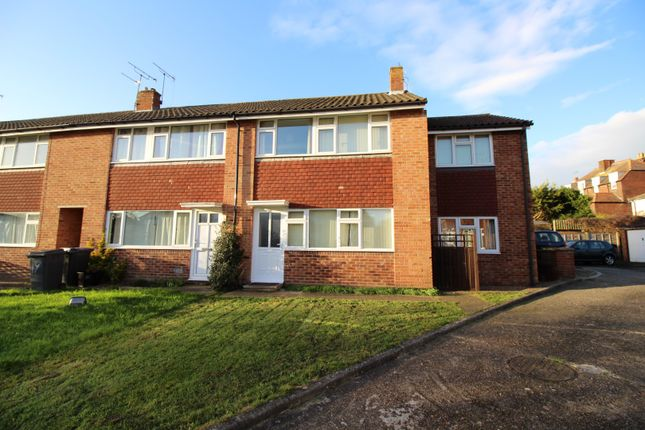 Thumbnail End terrace house to rent in St. Dunstans Close, Canterbury