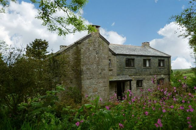 Thumbnail Detached house for sale in Temple, Bodmin, Cornwall