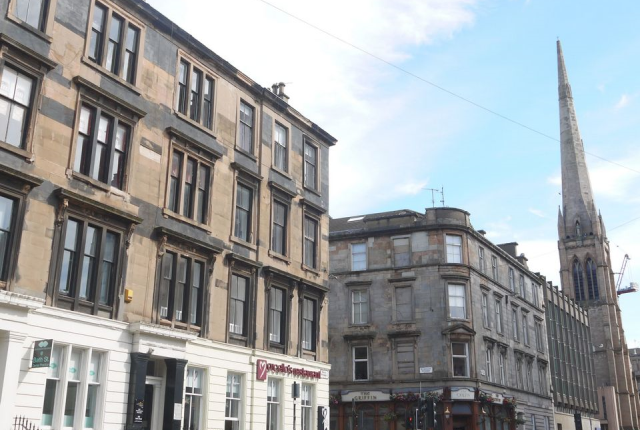 Thumbnail Flat to rent in 268 Bath Street Glasgow 4Jr, Glasgow