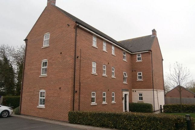 Thumbnail Flat to rent in Lace Makers Close, Borrowash, Derby