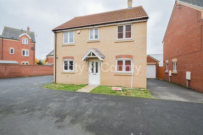 Thumbnail Detached house for sale in Whitby Avenue, Eye, Peterborough