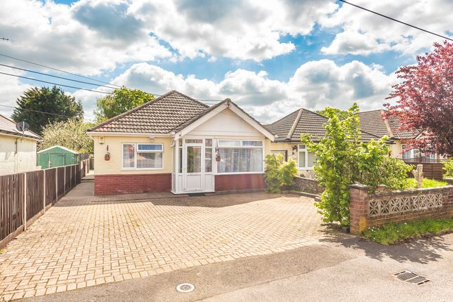 Thumbnail Detached bungalow for sale in West Road, Hedge End, Southampton, Hampshire