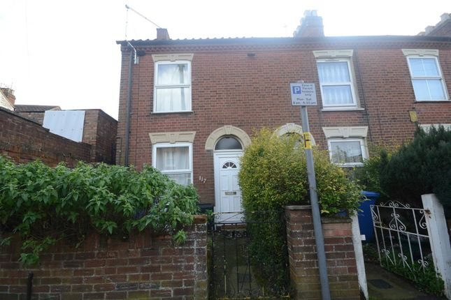 Thumbnail Terraced house for sale in Northcote Road, Norwich