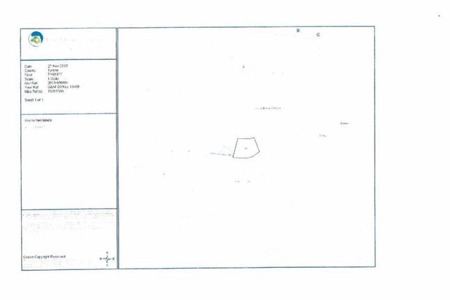 Thumbnail Land for sale in Site At Clonvaddy Road, Dungannon, Co. Tyrone