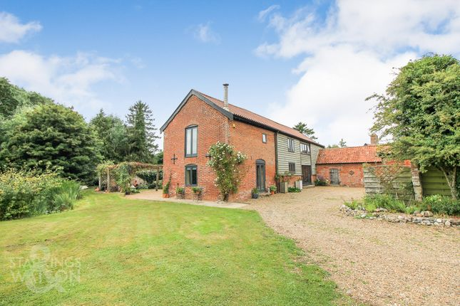Thumbnail Barn conversion for sale in Springwood Lane, Woodton, Bungay