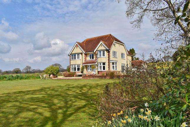 Thumbnail Detached house for sale in Undershore, Lymington