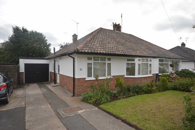 Thumbnail Semi-detached bungalow to rent in Wallcroft, Willaston, Neston