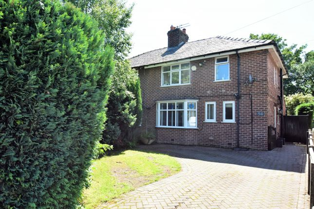 Semi-detached house for sale in Bridle Road, Woodford, Stockport