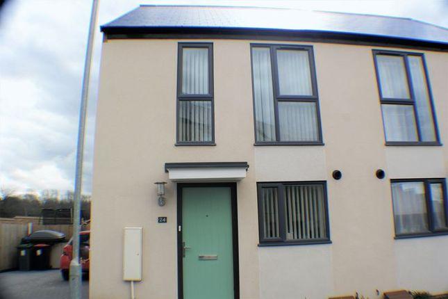 Thumbnail Semi-detached house for sale in Hendy Avenue, Ketley, Telford