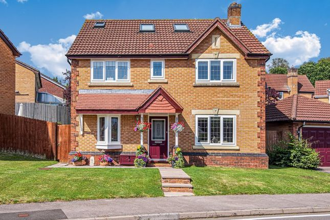 Thumbnail Detached house for sale in Rosecroft Drive, Langstone, Newport