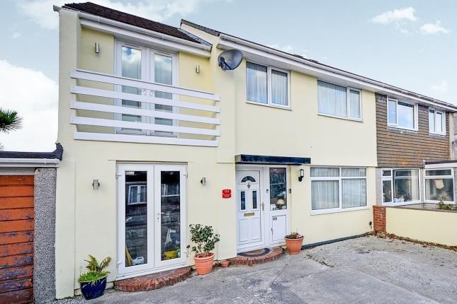 Thumbnail Semi-detached house for sale in Threemilestone, Truro, Cornwall