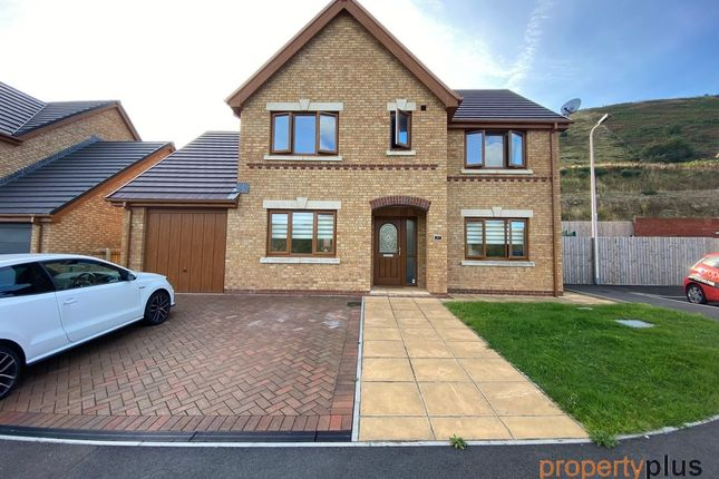 Thumbnail Detached house for sale in Pleasant Heights, Porth -, Porth