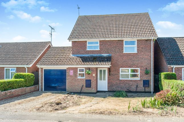 Thumbnail Detached house for sale in Coleridge Road, Diss