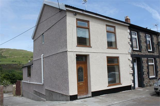 Thumbnail End terrace house to rent in Kennard Street, Ton Pentre, Pentre, Rhondda Cynon Taff.