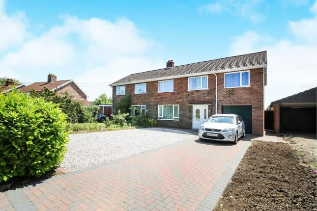 Thumbnail Semi-detached house for sale in Attleborough, Norwich, Norfolk