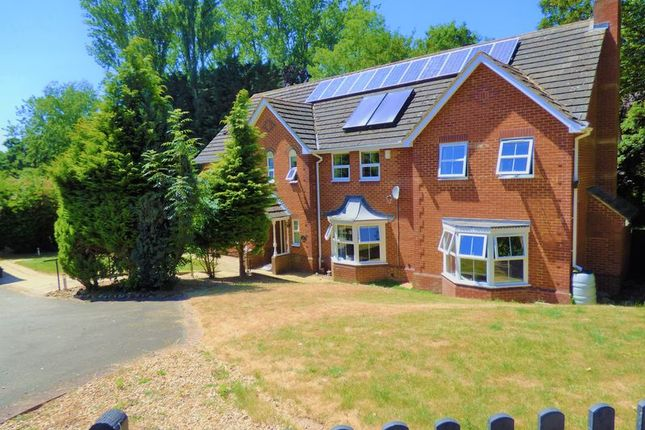 Thumbnail Detached house for sale in Standing Stones, Great Billing, Northampton