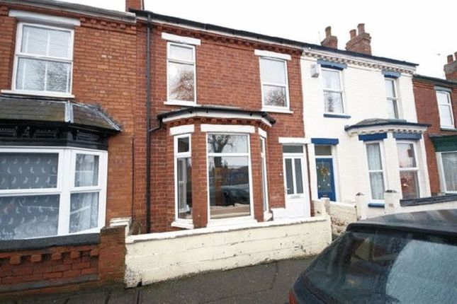 Thumbnail Terraced house to rent in Olive Street, Lincoln