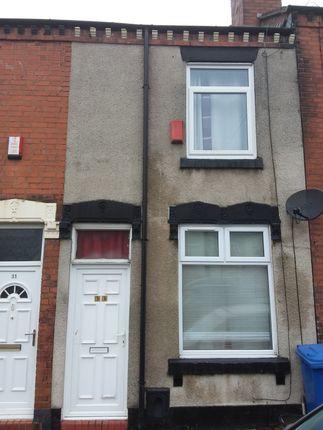 Thumbnail Terraced house to rent in St Pauls Street, Burslem, Stoke-On-Trent