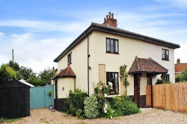 Thumbnail Cottage for sale in Norwich Road, Barnham Broom, Norwich
