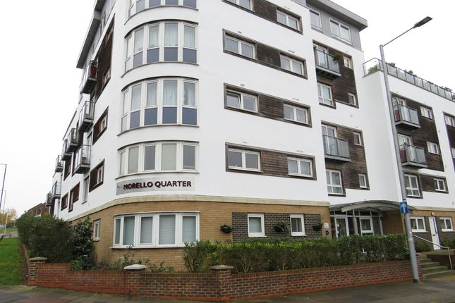 Thumbnail Flat for sale in Cherrydown East, Basildon