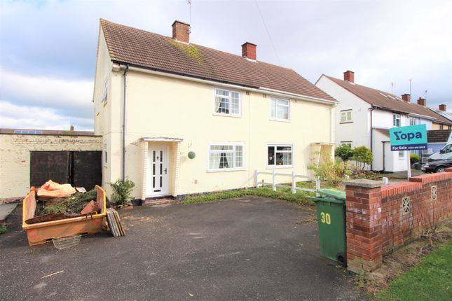 Thumbnail 3 bed semi-detached house for sale in Newton Road, Cheltenham