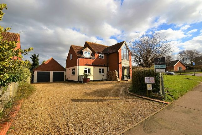 Thumbnail Detached house for sale in Waveney Close, Wells-Next-The-Sea, Norfolk.