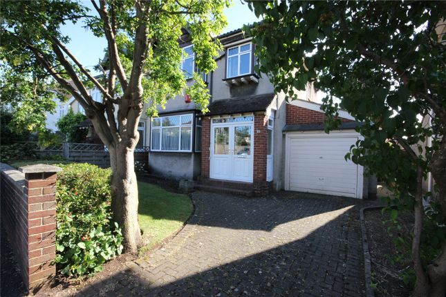 Thumbnail Semi-detached house for sale in Coombe Lane, Stoke Bishop, Bristol