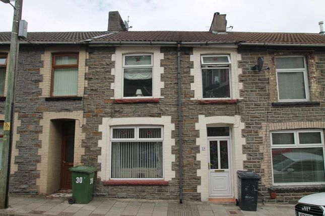 2 bed terraced house for sale in Bassett Street, Abercynon, Mountain Ash, Rhondda Cynon Taff CF45